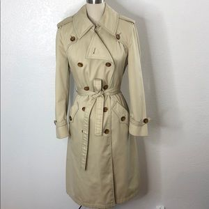 Vintage Carmen San Diego Trench Coat 12 L